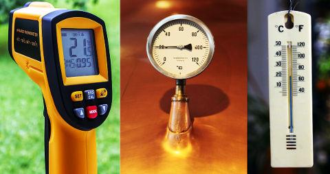 Termometre çeşitleri, sıcaklık birimleri ve dönüşümleri