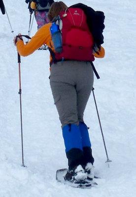 Katı basıncı örnek kar ayakkabısı