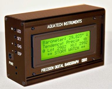 Basınç ölçümü elektronik veya dijital barometre