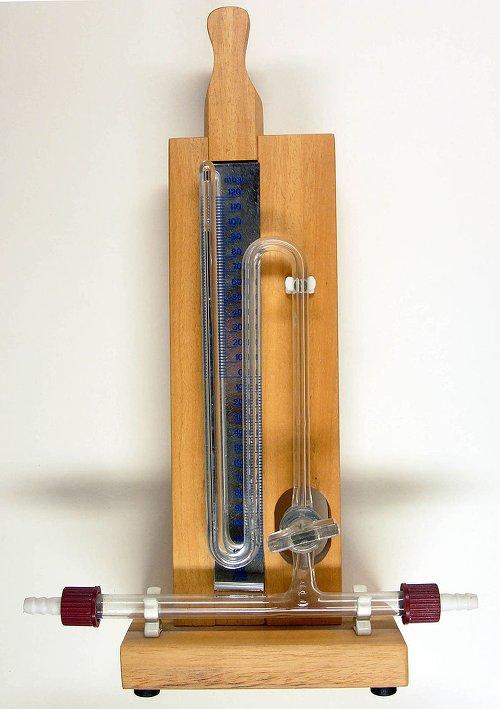 Basınç ölçümü bir ucu açık cıvalı manometre