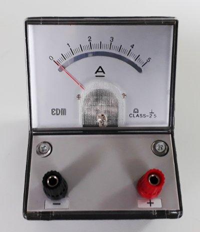 Akım nasıl ölçülür: ampermetre analog