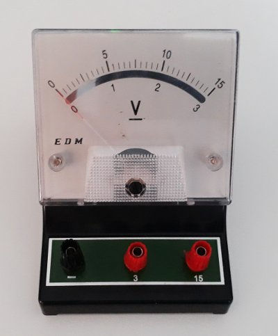 Gerilim veya voltj nasıl ölçülür: analog voltmetre