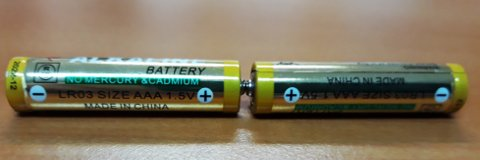 Üreteç: Pillerin seri bağlanması ters ya da yanlış bağlama