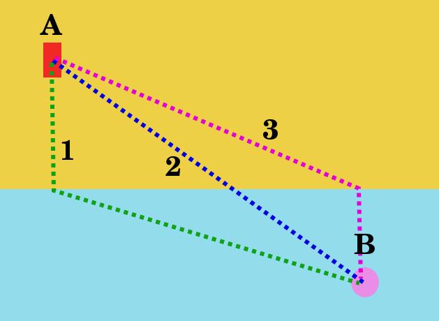 Fermat prensibi cankurtaran ve boğulan adam analojisi