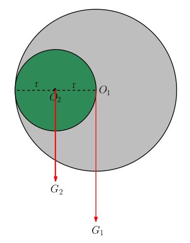 Kütle ve ağırlık merkezi soru 4 çözümü