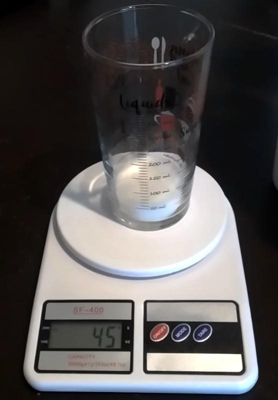 Toz şekerin özkütlesini belirleme deneyi malzemeler